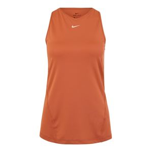 NIKE Sport top 'TANK ALL OVER MESH'  rozsdavörös