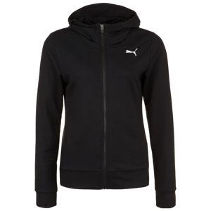 PUMA Sport szabadidős dzsekik  fekete / fehér