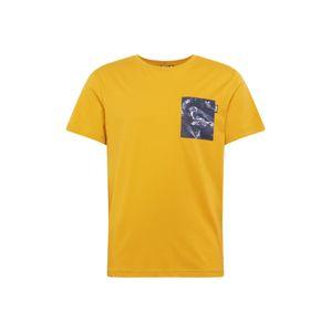 Picture Organic Clothing Funkcionális felső 'UNION'  sárga / vegyes színek