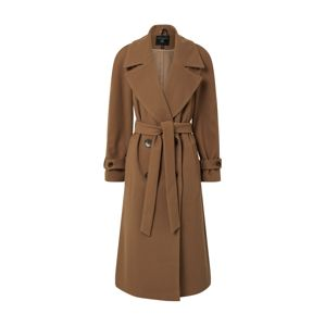 Dorothy Perkins Mantel 'GREEN DOUBLE BREASTED BELTED WRAP COAT'  bézs
