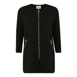 ABOUT YOU Curvy Átmeneti kabátok 'Dena'  fekete