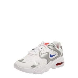 Nike Sportswear Rövid szárú edzőcipők 'Air Max Advantage 4'  kék / fehér / ezüst