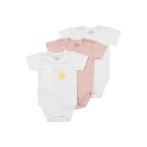 Hust & Claire Kezeslábas 'Bati'  rózsaszín / fehér