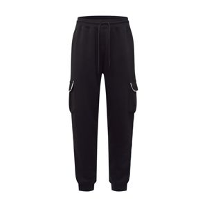 Urban Threads Nadrág 'Black Jogger'  fekete