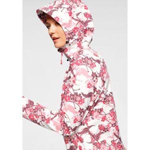 ICEPEAK Kültéri kabátok 'Barby'  rózsaszín / piros / fehér / borvörös