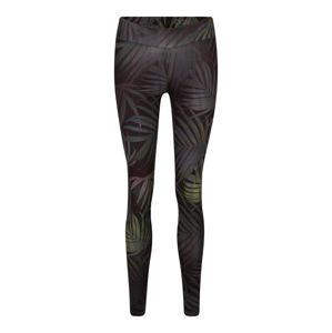 OGNX Leggings 'Palm Leaf'  sötétzöld / zöld