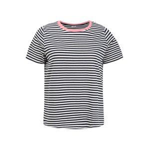 MY TRUE ME T-Shirt  őszibarack / kék / fehér