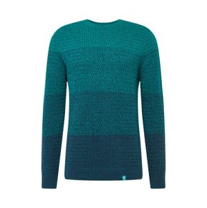 COLOURS & SONS Pulóver 'o-neck degrade'  menta