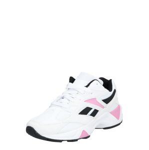 Reebok Classic Rövid szárú edzőcipők 'AZTREK 96'  rózsaszín / fekete / fehér