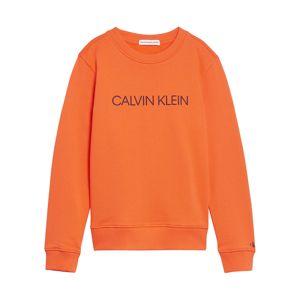 Calvin Klein Jeans Tréning póló  narancs / tengerészkék