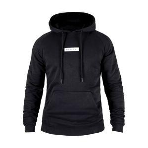 MOROTAI Sport szabadidős felsők ' Small Bloc Logo Hoodie '  fekete