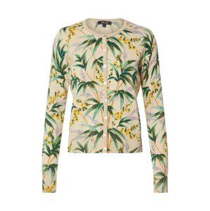 King Louie Kardigán 'Tahiti'  vegyes színek / elefántcsont / zöld