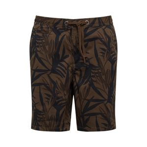 Superdry Chino nadrág 'SUNSCORCHED CHINO '  olíva / fekete