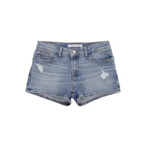 Calvin Klein Jeans Farmer 'Straight Mr Short'  kék farmer