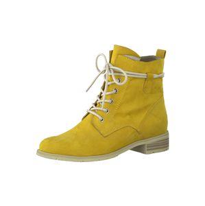 MARCO TOZZI Fűzős csizmák  sárga
