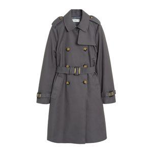 MANGO Átmeneti kabátok 'Polana'  szürke