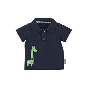 STERNTALER Póló 'Giraffe'  tengerészkék / világoszöld / fehér / füstkék