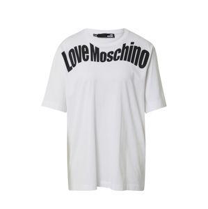 Love Moschino Póló  fehér / fekete