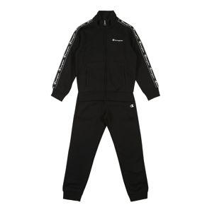 Champion Authentic Athletic Apparel Szettek 'Full Zip Suit'  fekete