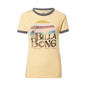 BILLABONG Póló 'Sunriser'  világos sárga / galambkék / fekete / vegyes színek