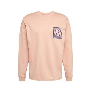 Carhartt WIP Póló  kék / rózsaszín / bézs