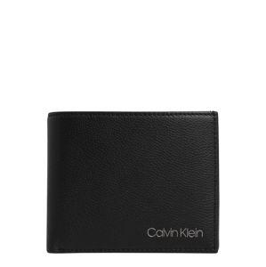 Calvin Klein Pénztárcák 'BIFOLD'  fekete / szürke