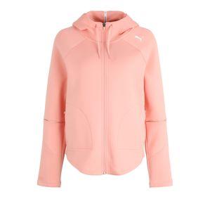 PUMA Sport szabadidős dzsekik 'Evostripe Move'  rózsaszín / fehér
