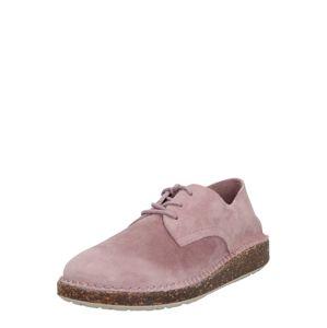 BIRKENSTOCK Fűzős cipő 'Gary Suede'  rózsaszín