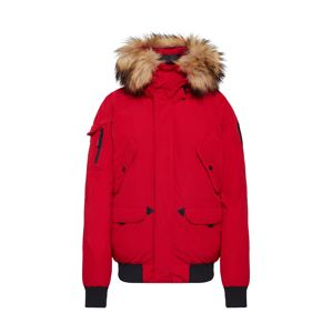 Helvetica Mountain Pioneers Téli parka 'Anchorage Women FF'  piros