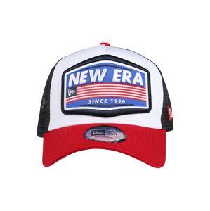 NEW ERA Sapkák 'USA Patch Trucker'  kék / fehér / fekete / piros
