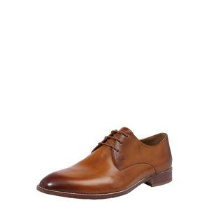 Gordon & Bros Fűzős cipő 'Mirco'  konyak