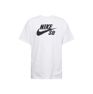 Nike SB Póló  fekete / fehér