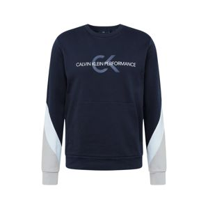 Calvin Klein Performance Sport szabadidős felsők  fehér / fekete / gitt / füstkék