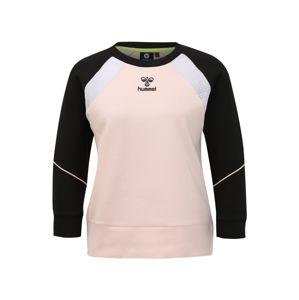 Hummel Sport szabadidős felsők 'hmlNIRVANA SWEATS'  fekete / rózsaszín