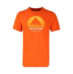 BURTON Póló 'UNDERHILL'  fehér / narancs / sárga