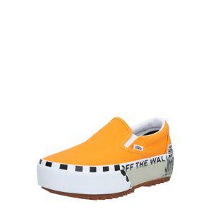 VANS Belebújós cipők  fehér / sárga