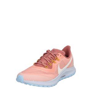 NIKE Futócipők 'Air Zoom Pegasus 36 Trail'  rózsaszín / fehér