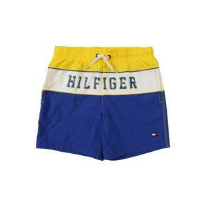 TOMMY HILFIGER Fürdőnadrágok  kék / sárga / fehér