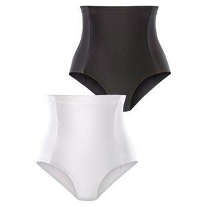 PETITE FLEUR Alakformáló nadrágok  fekete / fehér