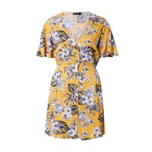 Tally Weijl Nyári ruhák  aranysárga / fehér / sötétzöld