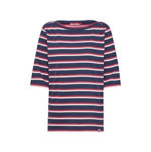 Derbe Shirt 'Harbor Multistriped'  piszkosfehér / tengerészkék / piros