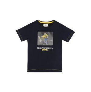 STACCATO Póló  tengerészkék / sárga / fehér / szürke