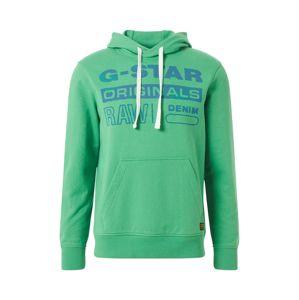 G-Star RAW Tréning póló 'Originals'  kék / fűzöld