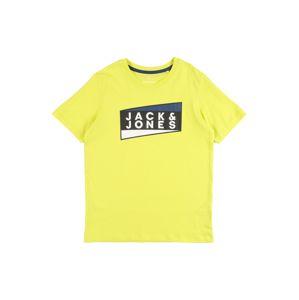 Jack & Jones Junior Póló 'JCOSHAUN'  sárga