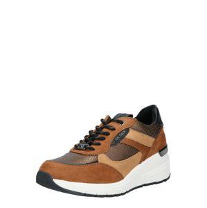TOM TAILOR Rövid szárú edzőcipők  bézs / barna / fekete