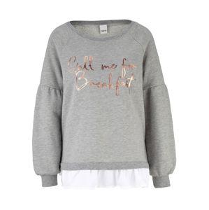 heine Tréning póló  fehér / szürke