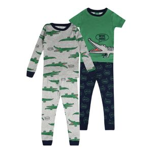 Carter's Ruhák alváshoz 'BSW 4PC COTTON BSW 4pc Gator WS'  kék / szürke / zöld