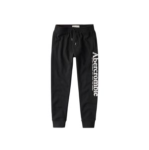 Abercrombie & Fitch Nadrág 'LOGO JOGGER'  fekete