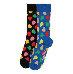 Happy Socks Sportzoknik 'Fruit'  vegyes színek / fekete / kék