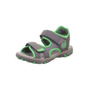 SUPERFIT Nyitott cipők 'MIKE 3.0'  szürke / fűzöld